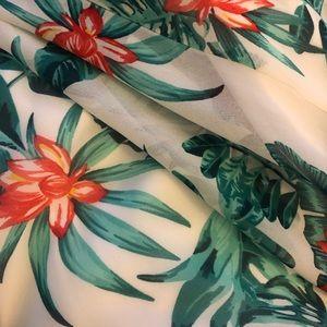 Lulu's Dresses - Tropical Print 2 piece maxi
